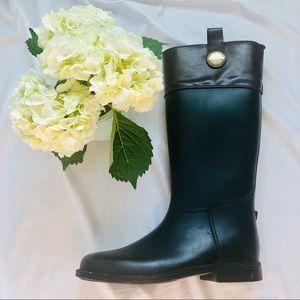 Banana Republic Black and Brown, Winter/Rain Boots